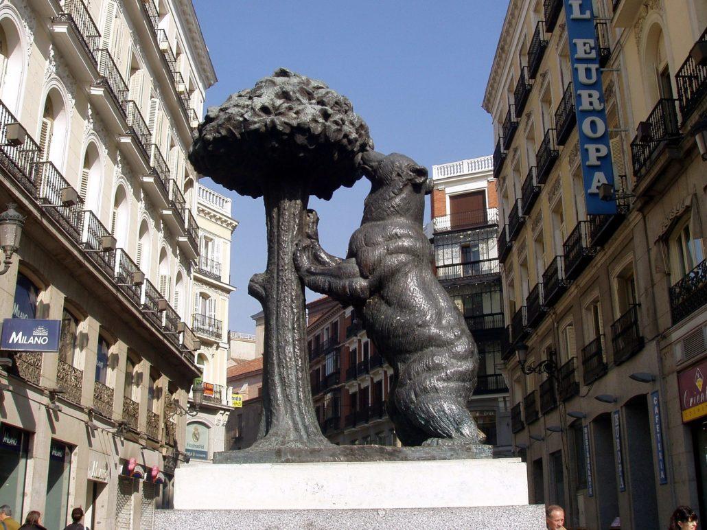 orso e corbezzolo a Madrid